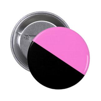Den konstiga anarkistflagga knäppas standard knapp rund 5.7 cm
