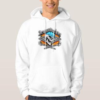 Den korsade skallen och att flamma för Ironworker Sweatshirt