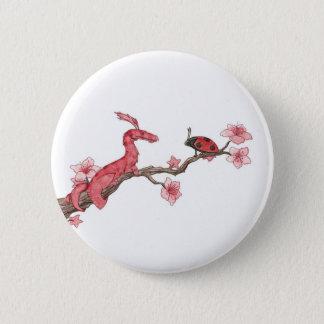 Den körsbärsröda blommar knäppas standard knapp rund 5.7 cm