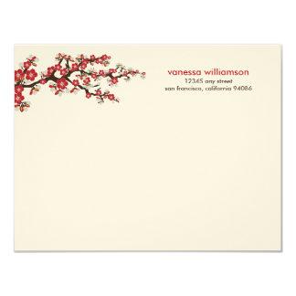 Den körsbärsröda blommaranpassningsbarlägenheten tillkännagivanden