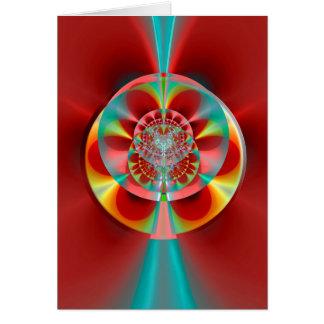 Den kosmiska rouletten rullar hälsningskort