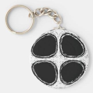Den Kota nyckelringen Rund Nyckelring