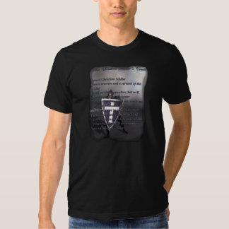 Den kristna soldat bekännelseT-tröja Tee Shirt