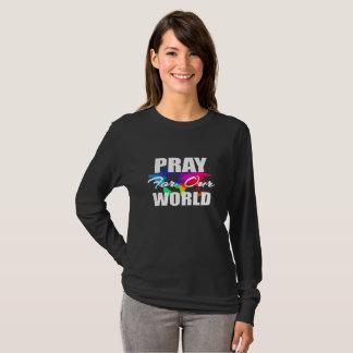 Den kristna trovärldsBönen ber för vår värld T Shirt