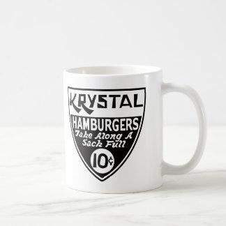 Den Krystal 10 centen skyddar Kaffemugg