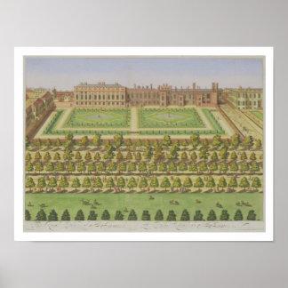 """Den kungliga slotten av St. James', från """"granskni Poster"""