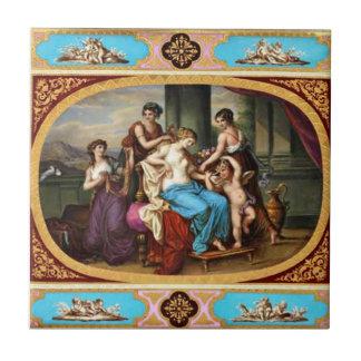Den kungliga Wien vintagedesignen belägger med Liten Kakelplatta