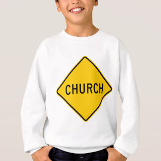 Den kyrkliga huvudvägen undertecknar tee shirts
