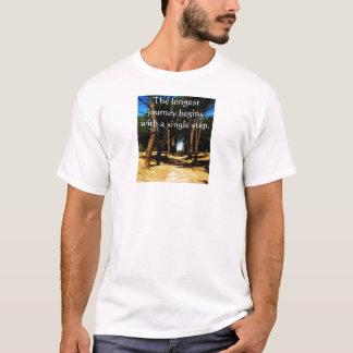 Den längsta resan börjar med en singel kliver t-shirt