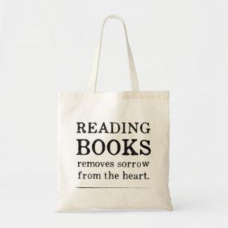 Den läs- boktotot hänger lös tygkasse
