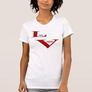 Den Las Vegas damavslappnaden kammar hem T Shirt
