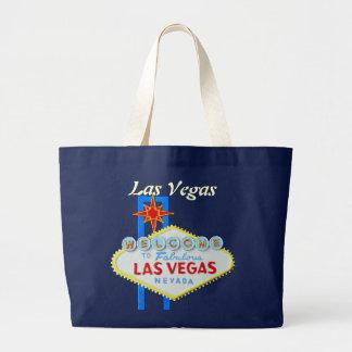 Den Las Vegas välkomnandet undertecknar Jumbo Tygkasse
