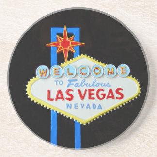 Den Las Vegas välkomnandet undertecknar Underlägg
