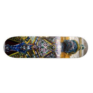 Den läskiga Buddha skridskon stiger ombord Skateboard Bräda 20,5 Cm