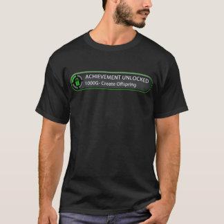 Den låsta upp prestationen skapar avkommor t-shirt