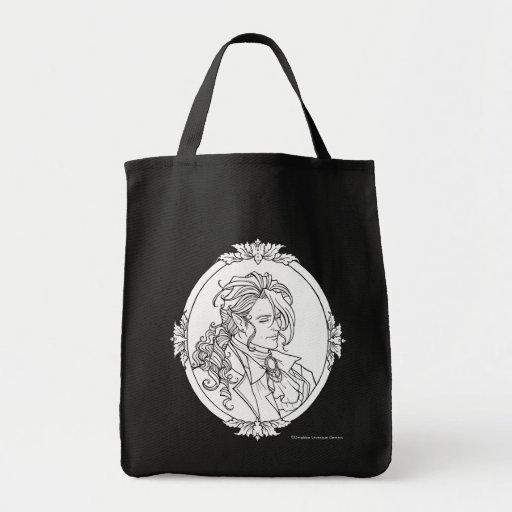 Den Le Porträtt Du vampyren skissar gotiskt hänger Kasse