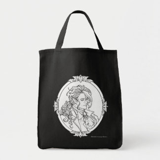 Den Le Porträtt Du vampyren skissar gotiskt hänger Mat Tygkasse