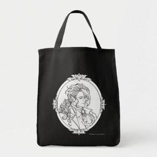 Den Le Porträtt Du vampyren skissar gotiskt hänger Tygkasse
