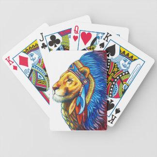 Den lejona chefen spelkort
