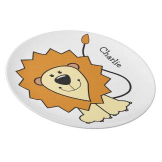 Den lejona melaminen för tallrik