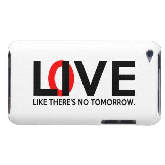 Den levande kärleknågot liknande där är ingen i mo iPod touch Case-Mate skydd