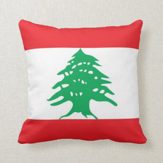 Den libanesiska flaggaamerikanen MoJo kudder Kudde