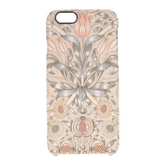 Den Lilly PomegranateiPhonen 6/6S görar klar Clear iPhone 6/6S Skal
