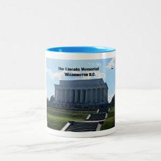 Den Lincoln minnesmärken Två-Tonad Mugg