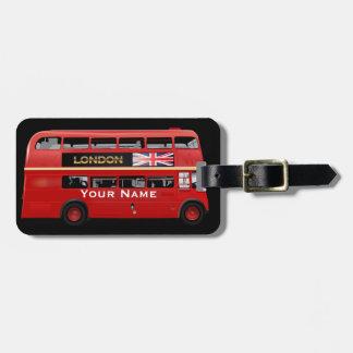 Den London bussen Bagagebricka