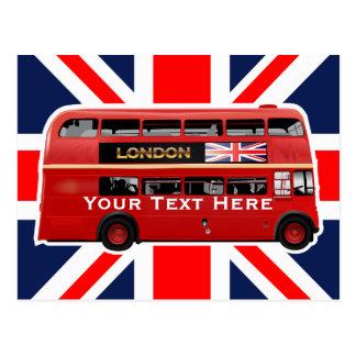 Den London bussen Vykort