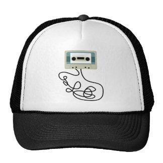 Den lösa kassetten tejpar kretsar baseball hat