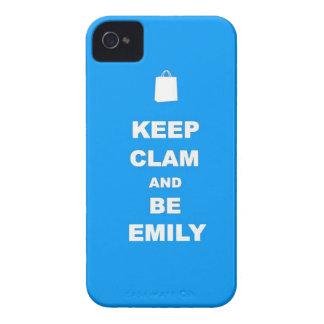 Den lugnaa behållan och är WHO som DU ÄR! iPhone 4 Case-Mate Fodraler