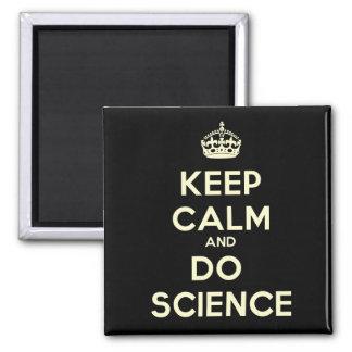 Den lugnaa behållan och gör vetenskapsmagneten