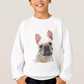 Den lyckliga franska bulldoggen lurar tröjan t-shirt