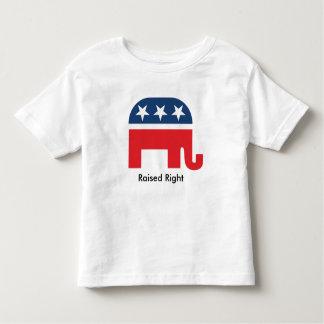 Den lyftta högra roliga republikanen lurar t-shirts