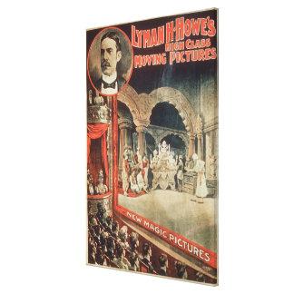 Den Lyman H. Howes för affischadvertizingen 'kicke Canvastryck