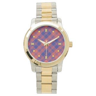 Den MacGregor tartanen Två-tonar klockan Armbandsur
