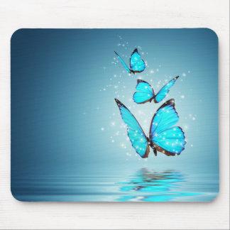 Den magiska fjärilsmusen vadderar mus matta