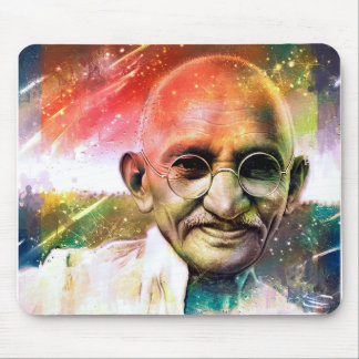 Den Mahatma Gandhi musen vadderar Musmatta