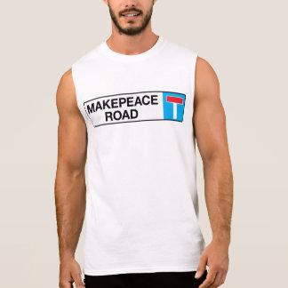 Den Makepeace vägen, den London gatan undertecknar T-shirts Utan Ärmar