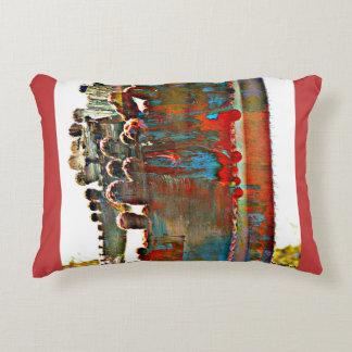 Den målade ugnen leda i rör kaktusbrytning kudder prydnadskudde