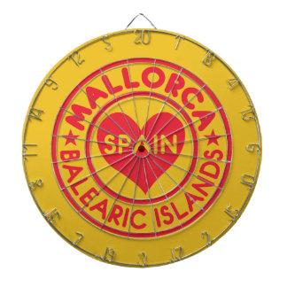 Den MALLORCA Spanien pilen stiger ombord Piltavla