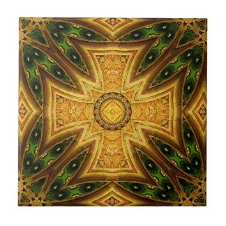 Den maltesiska Celtic Combo mandalaen belägger med Kakelplatta