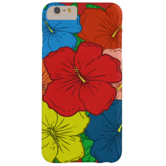 Den mångfärgade hibiskusen blommar #7 barely there iPhone 6 plus skal