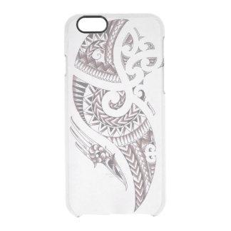 Den Maori designtelefonen täcker Clear iPhone 6/6S Skal
