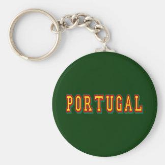 "Den Marca""Portugal"" poren Fás gör Futebol Portuguê Rund Nyckelring"