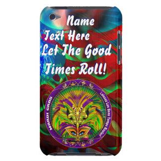 Den Mardi Gras drottningen som stil 2 beskådar, no iPod Touch Överdrag