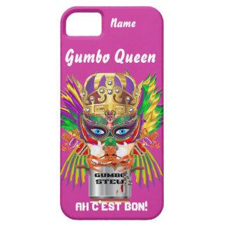 Den Mardi Gras Gumbodrottningen beskådar Hints iPhone 5 Cases