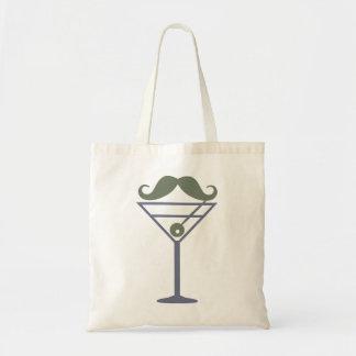 Den Martini moustachen hänger lös - välj stil, fär Tygkasse