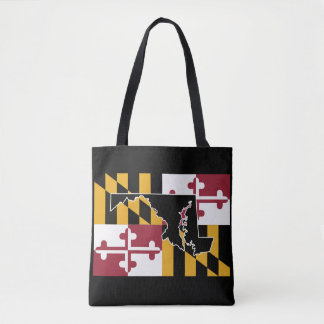 Den Maryland flagga/State hänger lös Tygkasse